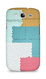 Amez designer printed 3d premium high quality back case cover for Samsung Galaxy S3 Neo (Shapes forms multi colored)