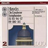 echange, troc  - Haydn - Les symphonies londoniennes, vol. 2 : Symphonies n° 93, 94, 97, 99, 100 et 101