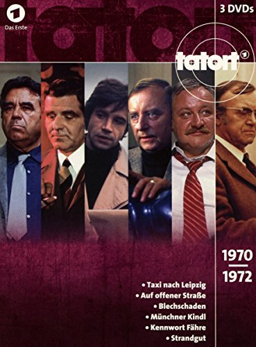 Tatort Klassiker - 70er Box 1 (1970-1972) [3 DVDs]
