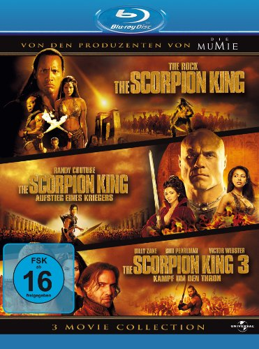 The Scorpion King 1-3 - Box [Blu-ray] hier kaufen