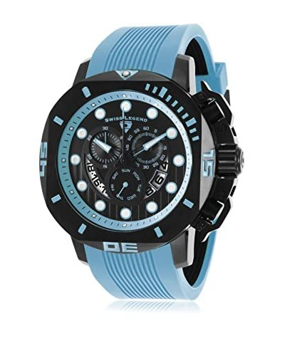 Swiss Legend Men's 10538S-BB-01-BBLAS Scubador Blue Watch