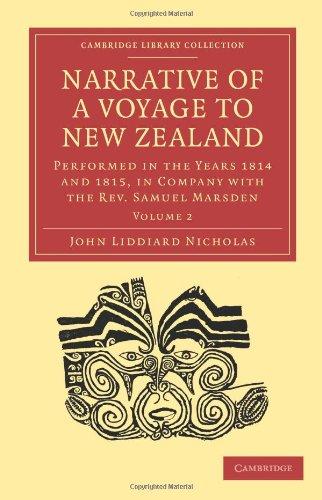Récit d'un Voyage en Nouvelle Zélande : réalisée dans les années 1814 et 1815, en compagnie du révérend Samuel Marsden (Collection de la bibliothèque de Cambridge - Religion)
