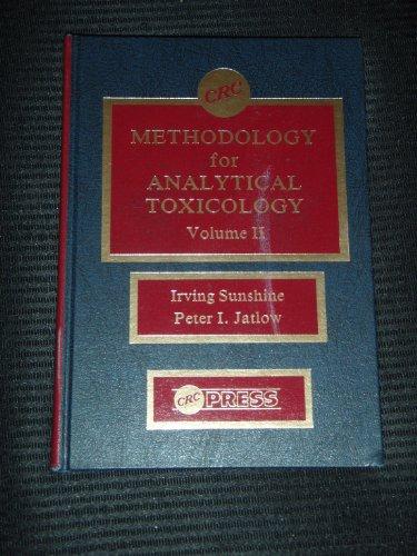 Methodology for Analt Toxicology: 002 (Methodology for Analytical Toxicology)