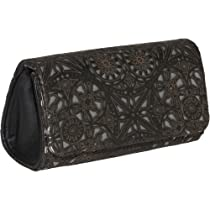 Inge Christopher Charlott Clutch (Black/Pewter)