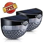 Litom Solar-powered Light 6 LEDs Outd...