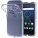 Motorola Moto E4 Plus, Back Cover, Premium Real Perfect Fit Hybrid Soft Silicon (TRANSPARENT) Back Case Cover For Motorola Moto E4 Plus