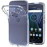 Motorola Moto E4 Plus, Back Cover, Premium Real Perfect Fit Hybrid Soft Silicon (TRANSPARENT) Back Case Cover For Motorola Moto E4 Plus