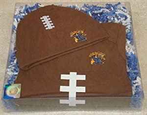 Kentucky Wildcats Baby Football Onesie and Football Cap Gift Set by Future Tailgater