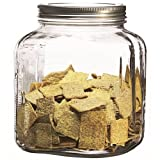 1 Gallon Cracker Jar with Lid