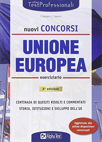 I test dei concorsi per l 39 unione europea scienze for Test scienze politiche