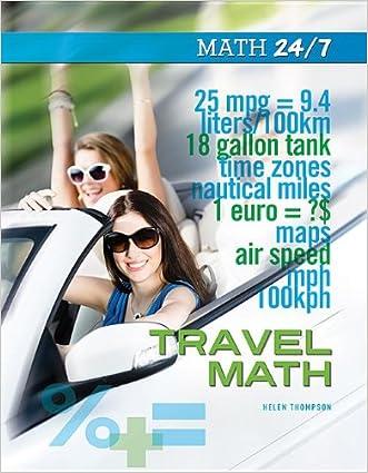 Travel Math (Math 24/7) written by Helen Thompson