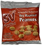 Sun Valley Dry Roasted Peanuts 2 x 12 x 50 g (Clip Strip)