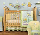 Kidsline Snug As A Bug 6 Piece Crib Bedding Set
