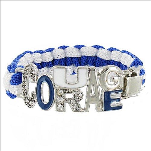 JOA Courage Letter Accent Paracord Bracelet #041445
