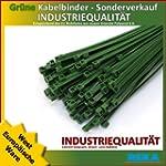 200 Stck Kabelbinder gr�n 200 x 3,6 m...