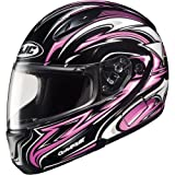 HJC Atomic Modular Women's CL-MAX II On-Road Racing Motorcycle Helmet – MC-8 / Small