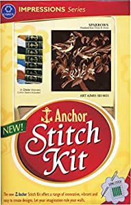 Anchor Stitch Kit Sparrows