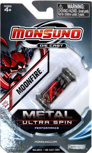 Monsuno Die Cast Metal Ultra Spin Core #07 Moonfire Eklipse