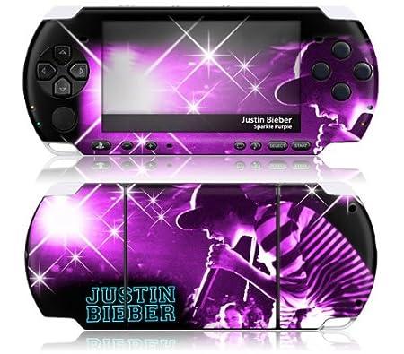 JUSTIN BIEBER-SPARKLE PURPLE-PSP 3000 (VIDEO GAME ACCESSORIES)