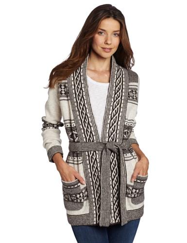 Pendleton Women's Discovery Stripe Cardigan Sweater