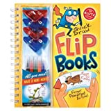 img - for Quick Draw Flip Books (Klutz) by Klutz (2008) Spiral-bound book / textbook / text book