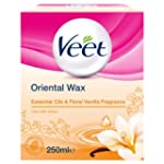 Veet Warm Wax Microwavable Jar - Esse...