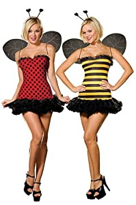 Sexy Reversible Ladybug/Bumble-Bee Costume