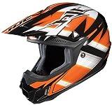 HJC CL-X6 Spectrum Off-Road Helmet (Black/Orange/White, Large)