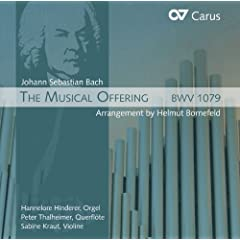 Bach: The Musical Offering (arrangement by Helmut Bornefeld)