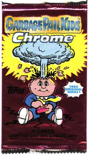 Topps Garbage Pail Kids 2013 Chrome RETAIL Pack [Comes From Value] - 1