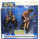 AC/DC Angus Young & Brian Johnson 2PK Action Figure