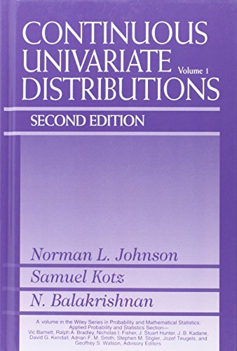 Continuous univariate distributions
