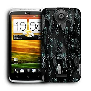 Snoogg Abstract Wallpaper Printed Protective Phone Back Case Cover For HTC One X