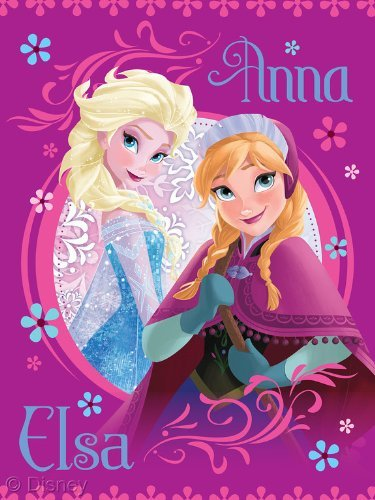 Disney Frozen Loving Sisters Anna and Elsa Throw