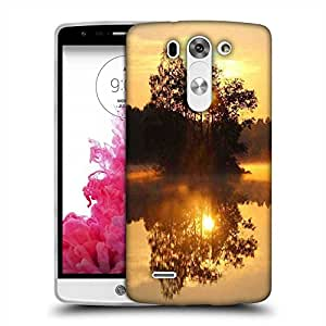 Snoogg Tree In The River Designer Protective Phone Back Case Cover For LG G3 BEAT STYLUS