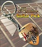 OK GO Premium Guitar Pick Keyring