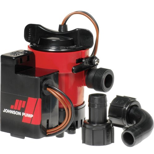Johnson Pump 750GPH Auto Bilge Pump 3/4 Hose Mag Switch 12V bathtub pump lx spa hot tub whirlpool pump tub spa circulation pump