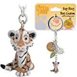 Little Paws Key Ring / Bag Charm - Tiger