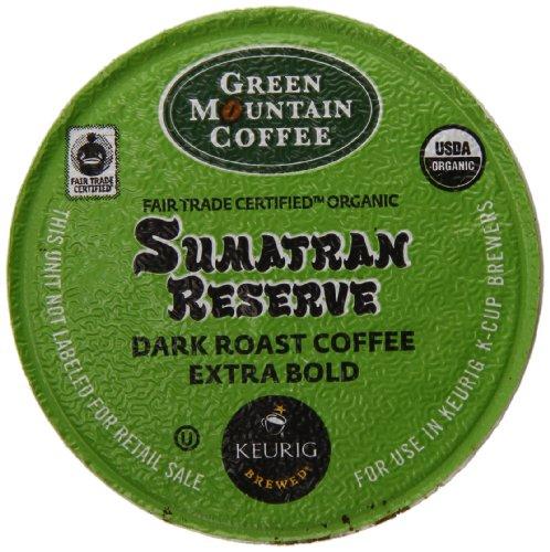 Green Mountain Coffee Organic K-Cup, Sumatran, 12-Count (K Cups Coffee Sumatran Reserve compare prices)