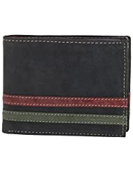 MC MARCCHANTAL Black Men's Leather Wallet