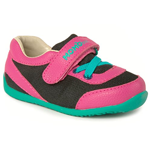 Momo Baby Girls First Walker/Toddler Leah Sneaker Shoes - 7 M US Toddler
