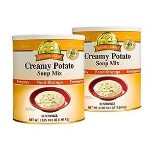 Augason Farms Food Storage Creamy Potato Soup Mix - 2 pk by Augason Farms