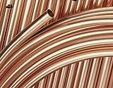 Buderus Kupferrohr 8 x 1,0 mm weich in Ringen 50 Meter blank