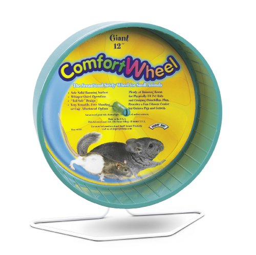 Super Pet Chinchilla Giant Comfort Exercise Wheel, Colors Vary