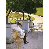 Tallenge Old Masters Collection - The Orange Trees By Gustave Caillebotte - A3 Size Premium Quality Rolled Poster