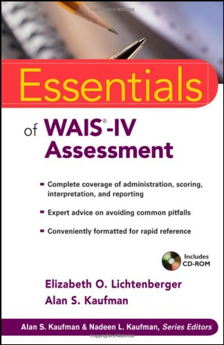 Essentials of WAIS-IV Assessment (Essentials of...
