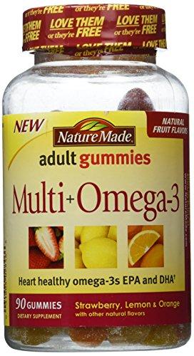 Nature Made Multi Plus Omega3 Gummies, 90 Count (Nature Made Gummy Multi compare prices)
