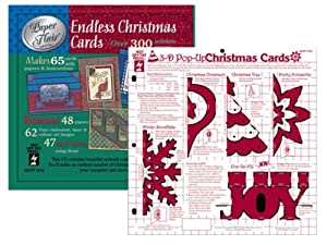 Hot Off The Press - Endless Christmas Cards - CD and Template