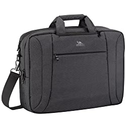 RivaCase 8290 Convertible Backpack for 16-inch Laptop (Charcoal Black)