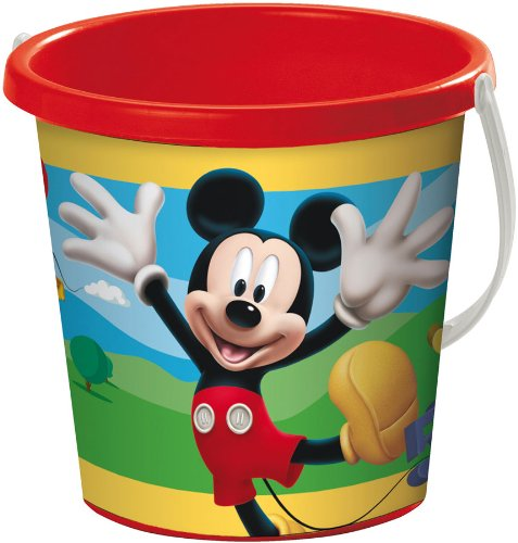 Imagen principal de Mondo A1100221 Mickey Mouse - Cubo de playa (17 cm)